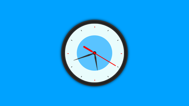 Build A Working Analog Clock using HTML CSS and Javascript